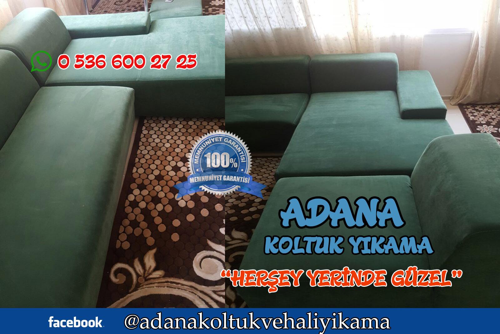 Adana L Koltuk Yıkama ( Köşe Takimi )