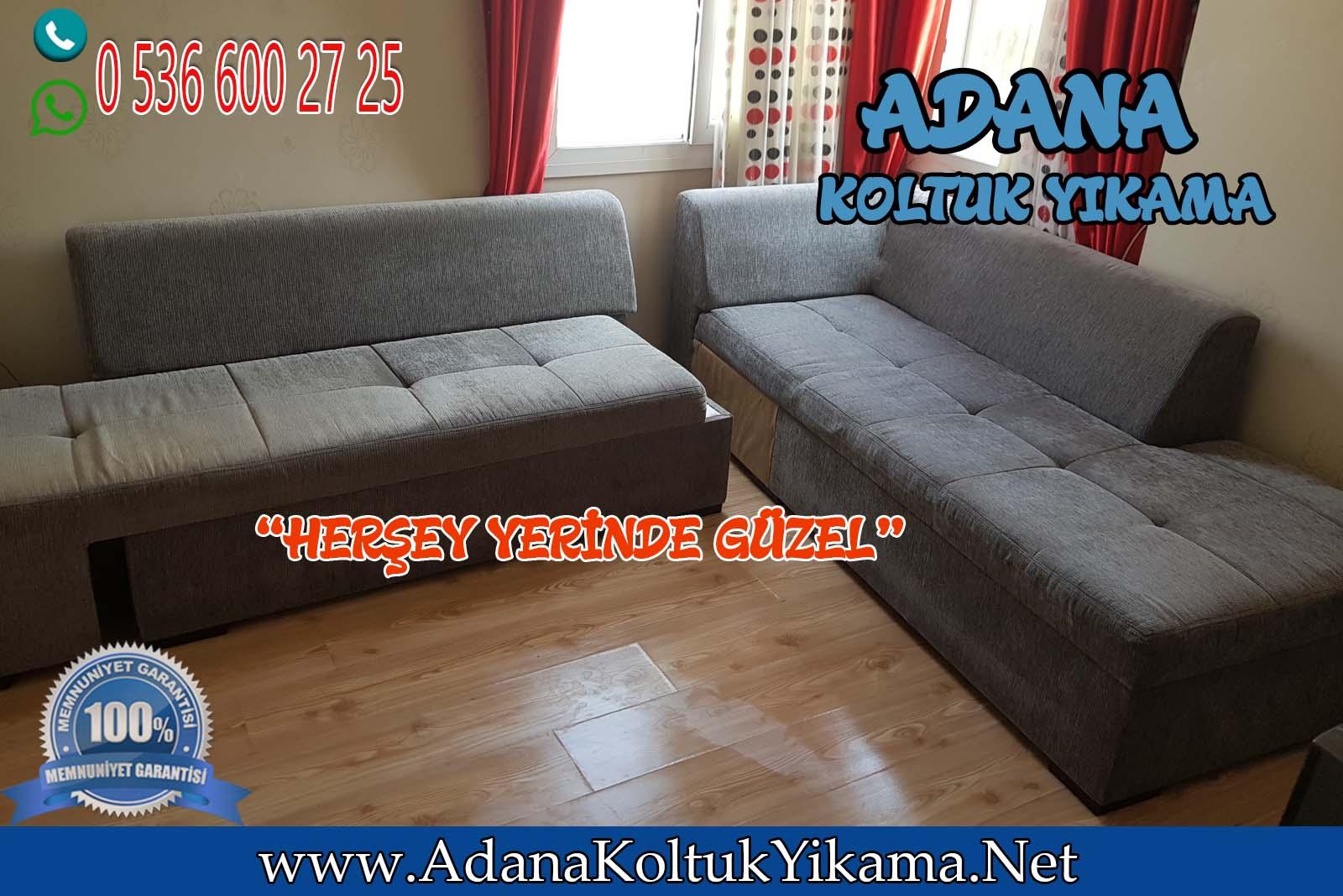 Adana Pınar Mahallesi Köşe Takımı Yıkama ( L Koltuk Yıkama)