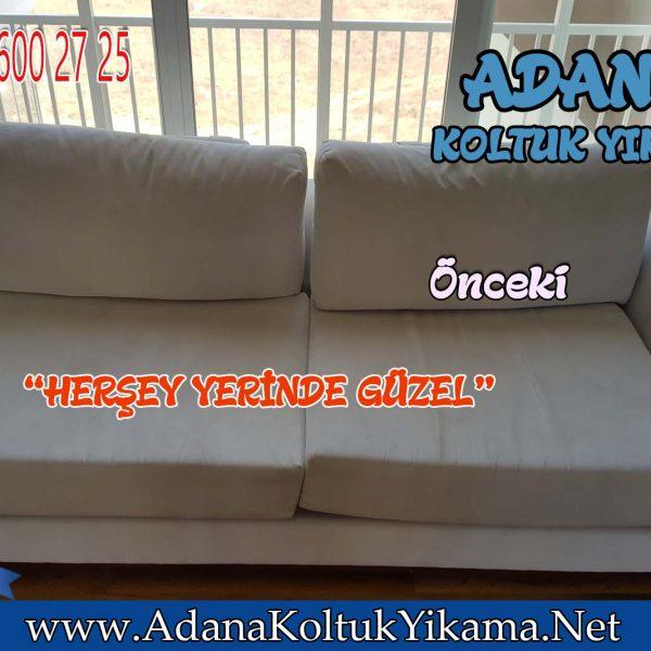 Adana 100 üncü Yıl Koltuk Yıkama