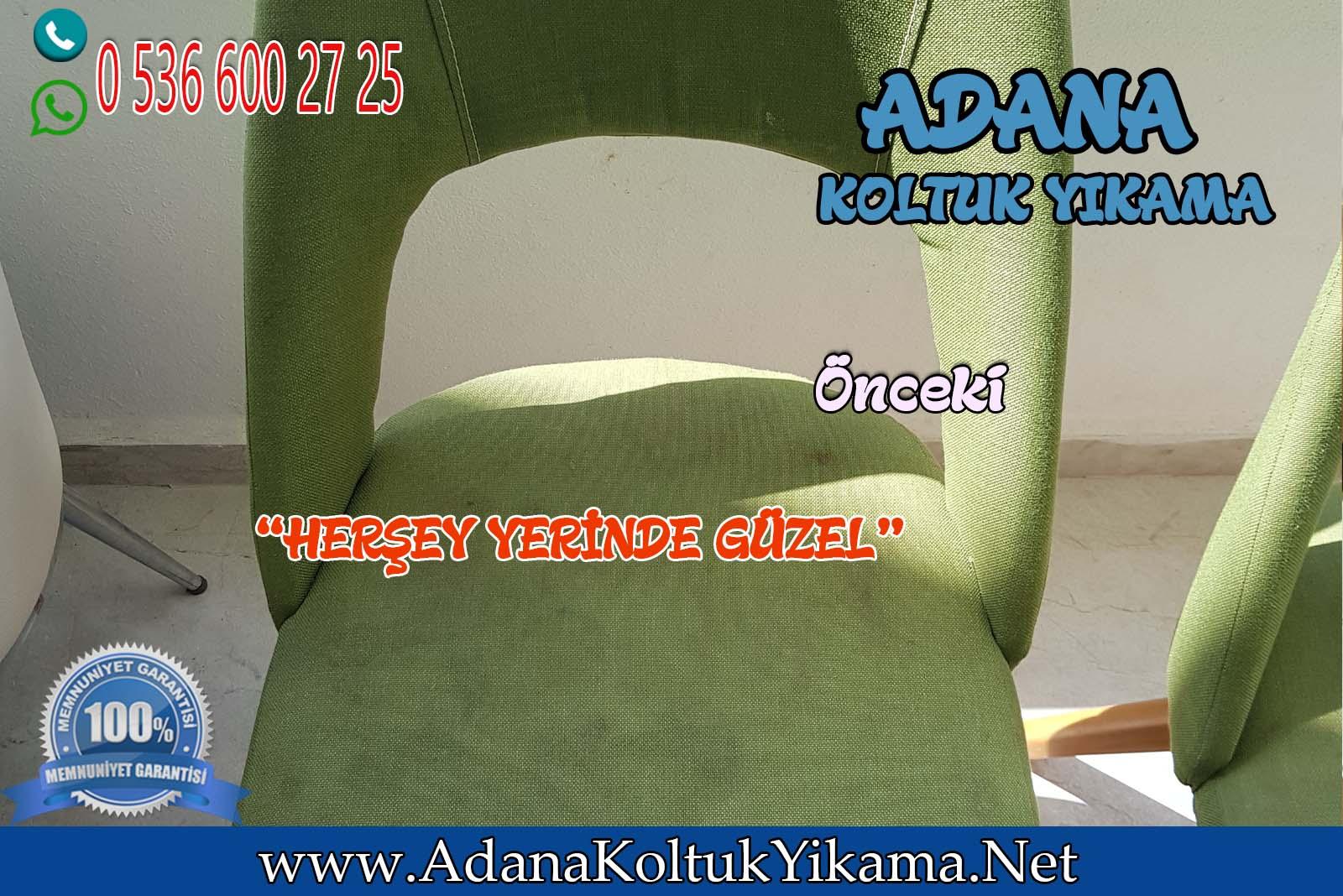 Adana Sandalye Yıkama ( 100. Yıl Mahallesi ) Pınarlı Bahçe Sitesi