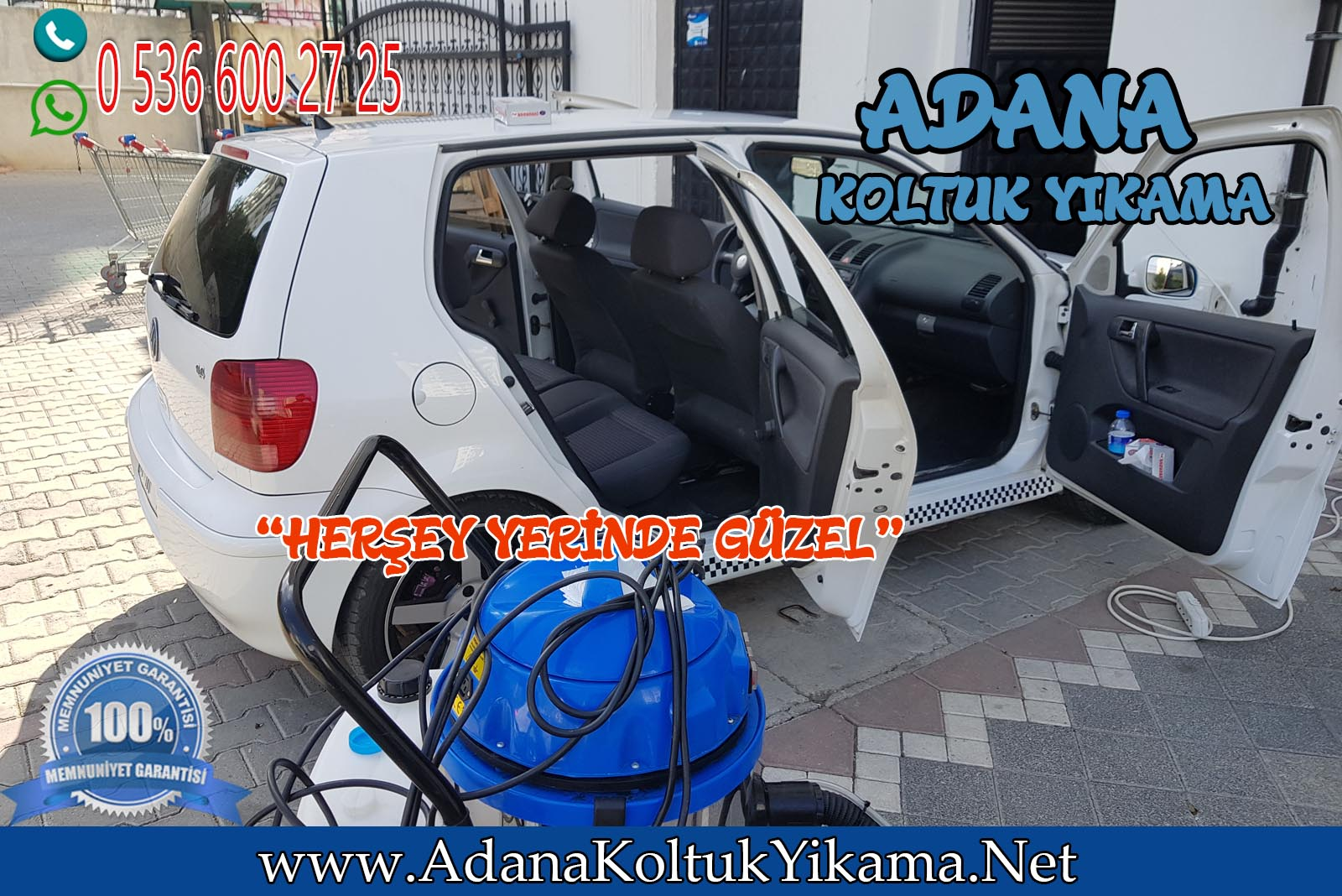 Adana Araç Koltuk Yıkama Volkswagen Polo