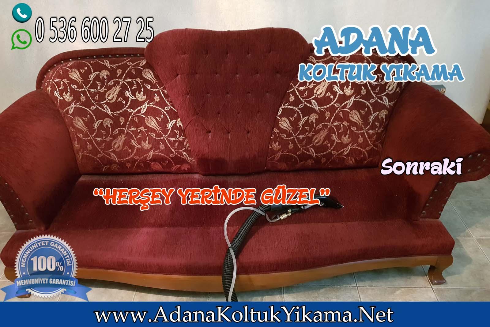 Adana Koltuk Yıkama Güzelyalı Mahallesinde !