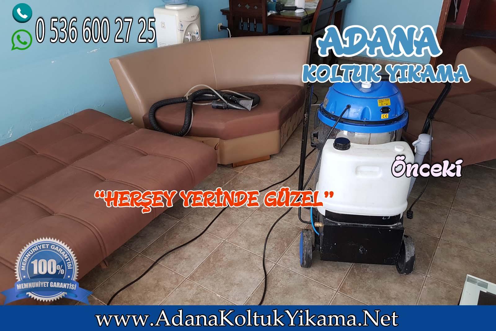 Adana Koltuk Yıkama ( Süleyman Demirel Bulvarı ) L Koltuk Yıkama