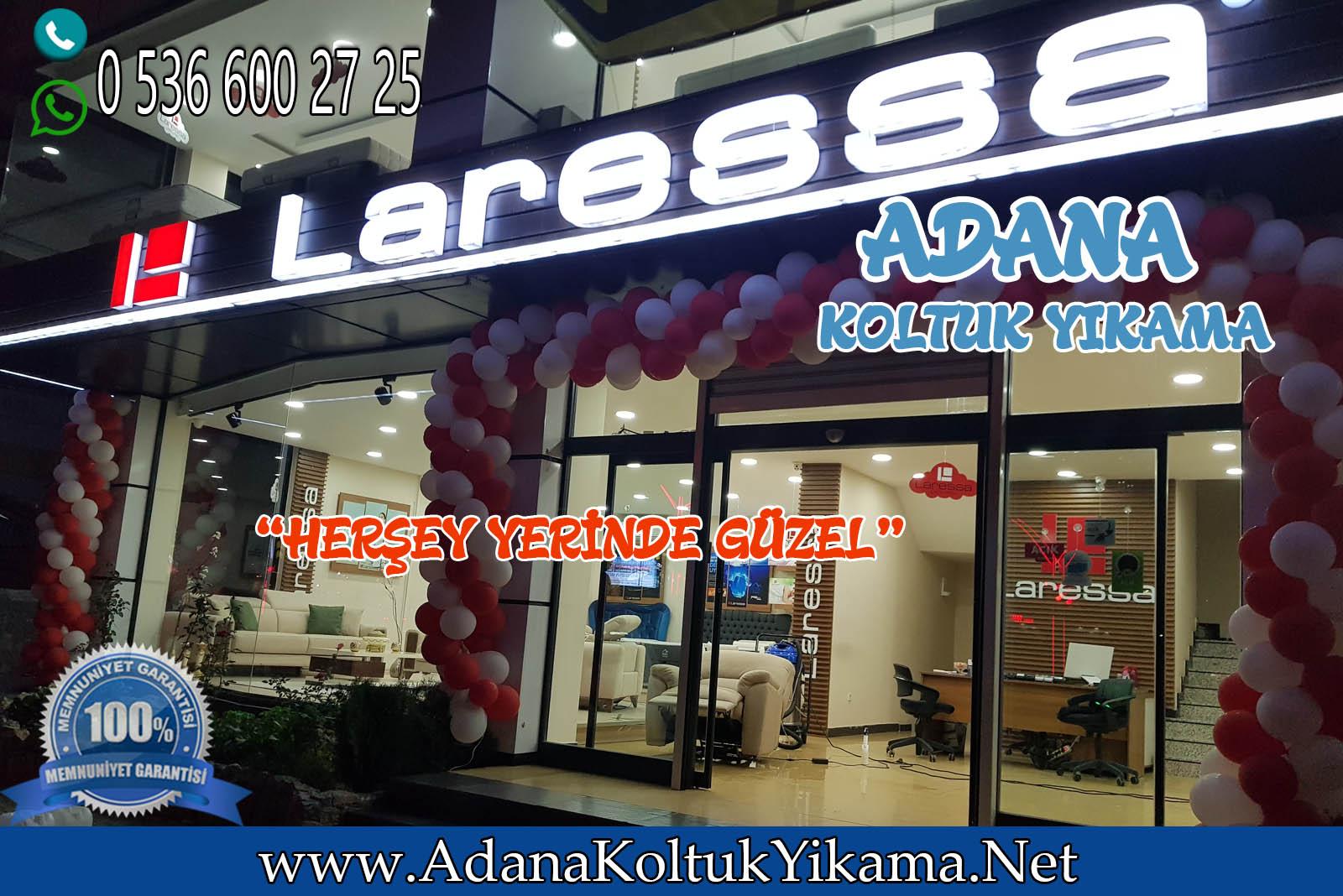 Adana Koltuk Yıkama + Laressa Yatak Yıkama Çukurova