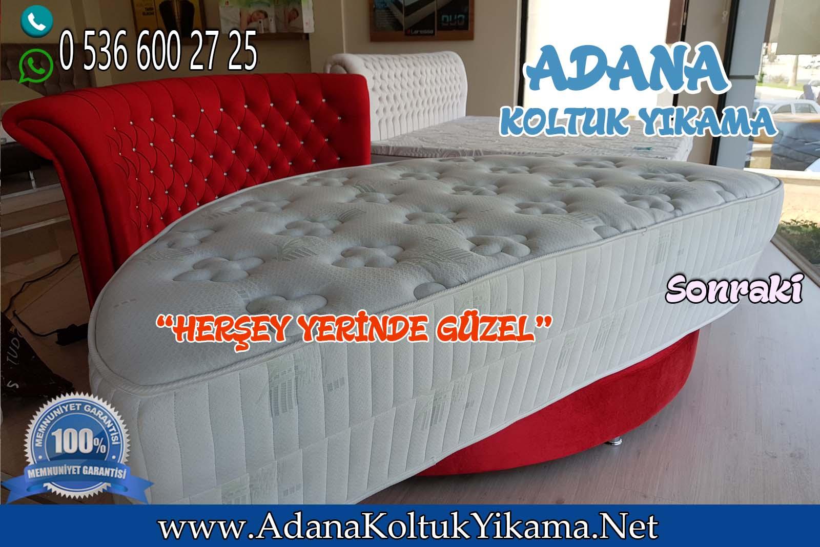 Adana Koltuk Yıkama İle Laressa  Yatak ShowRoom Temizliği
