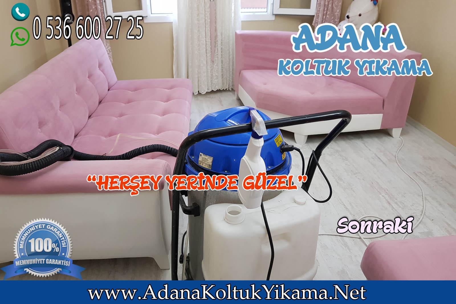 Adana Koltuk Yıkama + Pınar Mahallesi L Koltuk Yıkama