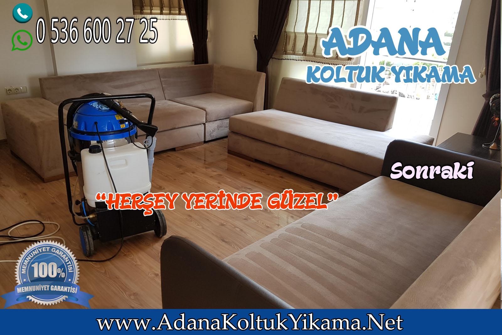 Adana Koltuk Yıkama Pınar Mahallesinde