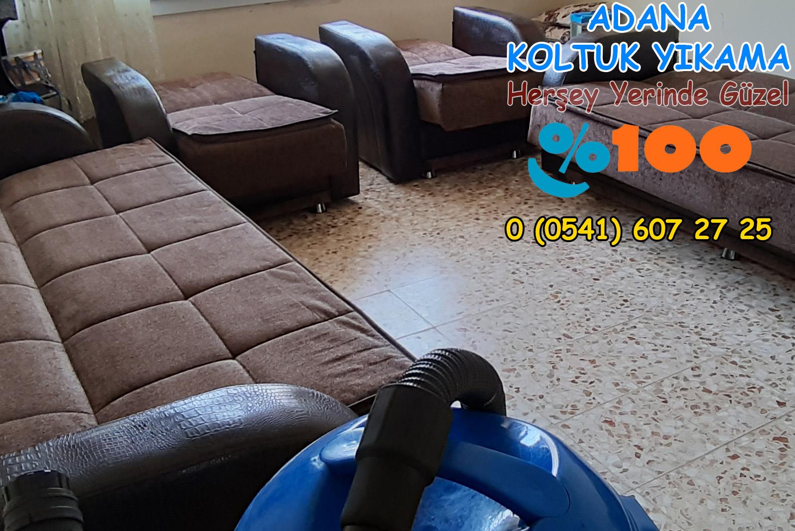 Adana Yüreğir Ptt Evleri Koltuk Yıkama | 0 541 607 27 25