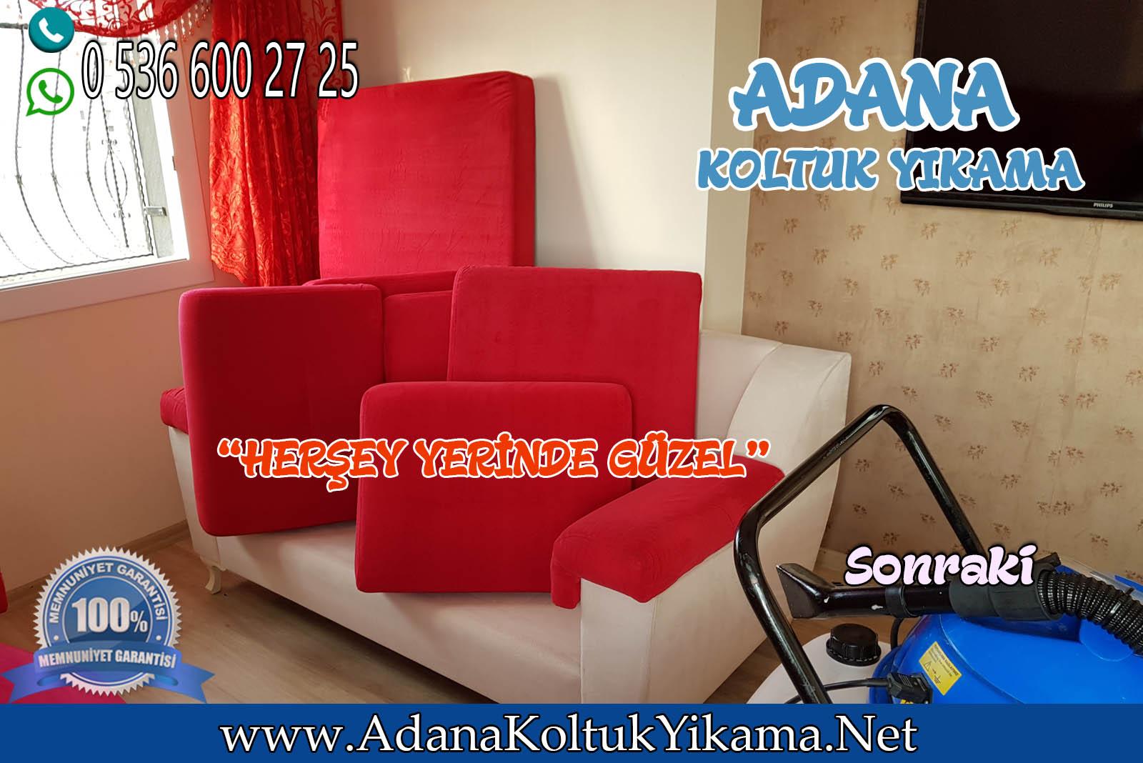 Adana Sarıçam Koltuk Yıkama + Koltuk Takımı Yıkama