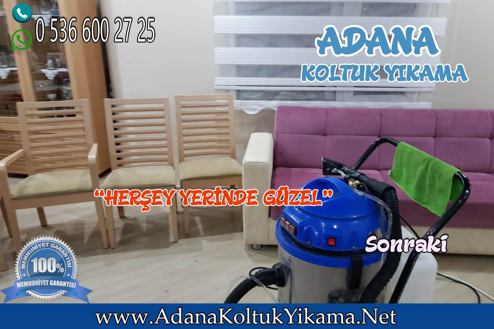 Adana Çukurova Koltuk Yıkama Toros Mahallesi