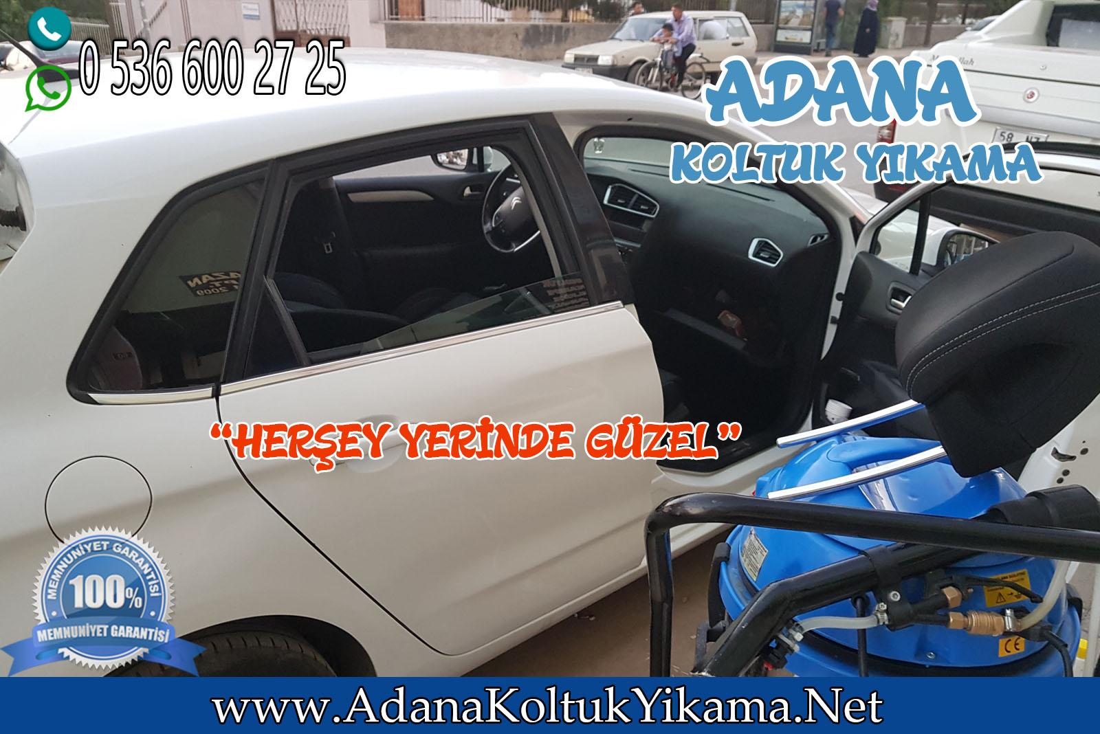 Adana Oto Koltuk Yıkama Citroen C4