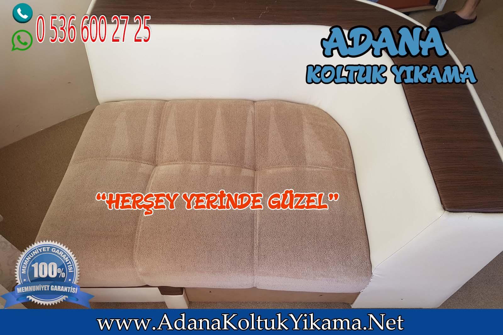 Adana Tellidere Mahallesi Köşe Takımı Yıkama ( L Koltuk Yıkama)